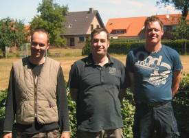 v.l. Rainer Borgert, Klaus Holtkamp und Christoph Bertling