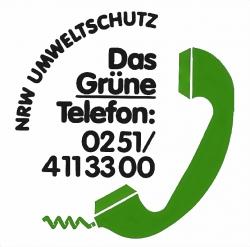 Grünes Telefon NRW - Kontaktnummer BZ Münster