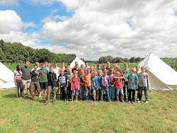 ASV-Jugend-bezog-Zelte-an-der-Ems-Frischer-Fisch-im-Angelcamp image 630 420f wn